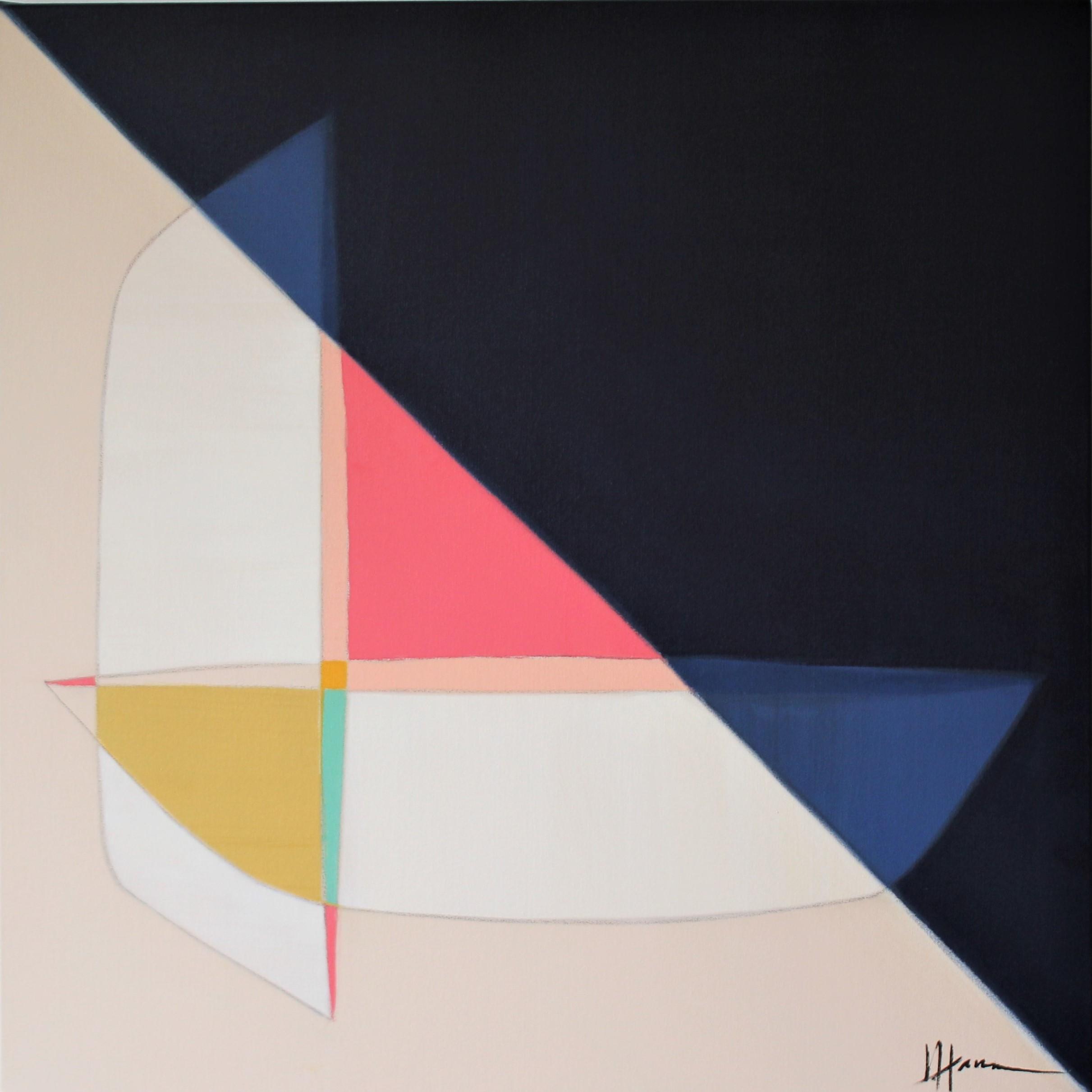 Sunrise Pointe, 30x30, acrylic on canvas
